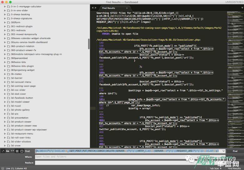 BadCode是静态源代码扫描器的签名数据库,用于识别不良的安全实践